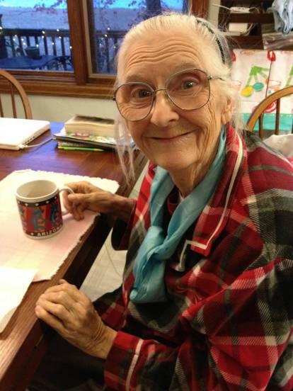 My grandma, Mimi.