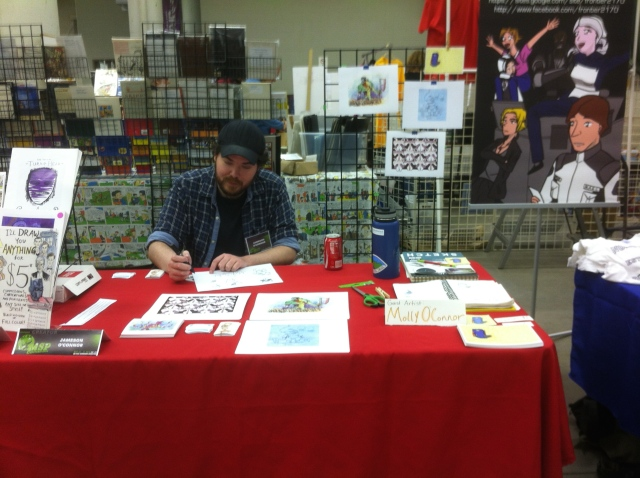 Our SpringCon table