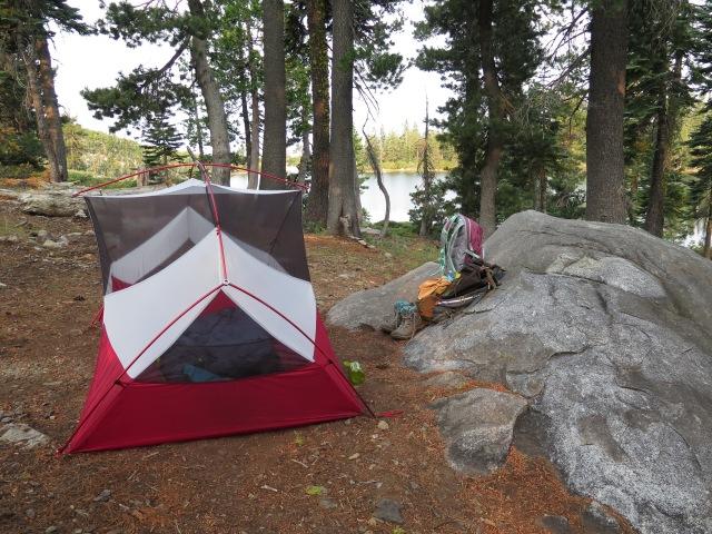 My tent - a MSR Hubba Hubba