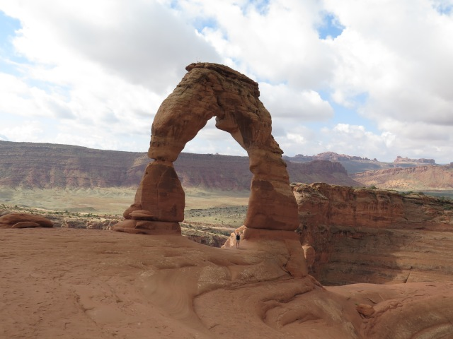 Me under Delicate Arch
