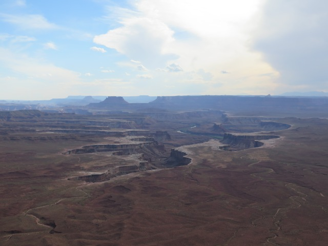 A view of Canyonlands